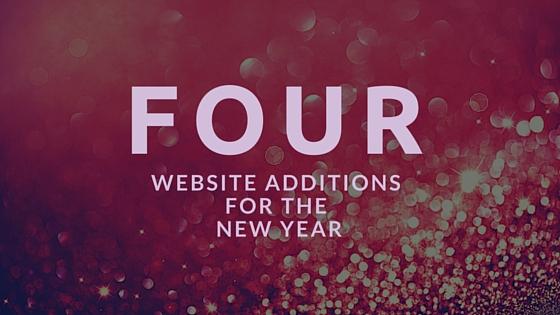 website additions