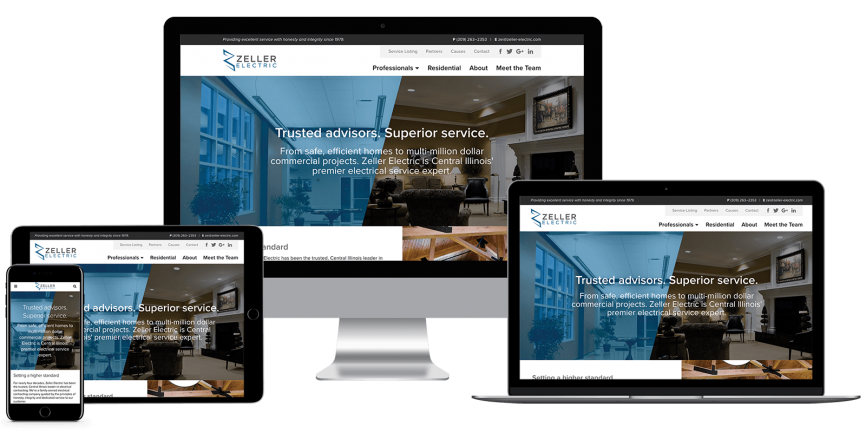 Zeller Electric, Mavidea website client