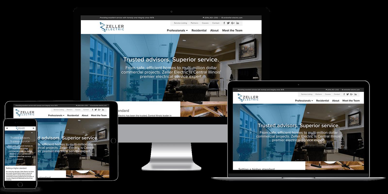 Zeller Electric, Mavidea website client