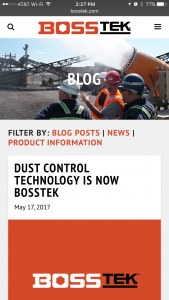 BossTek - Phone - Blog