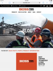 BossTek - Tablet - Blog