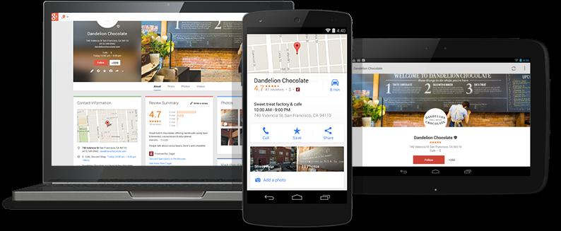 Google My Business SEO Example