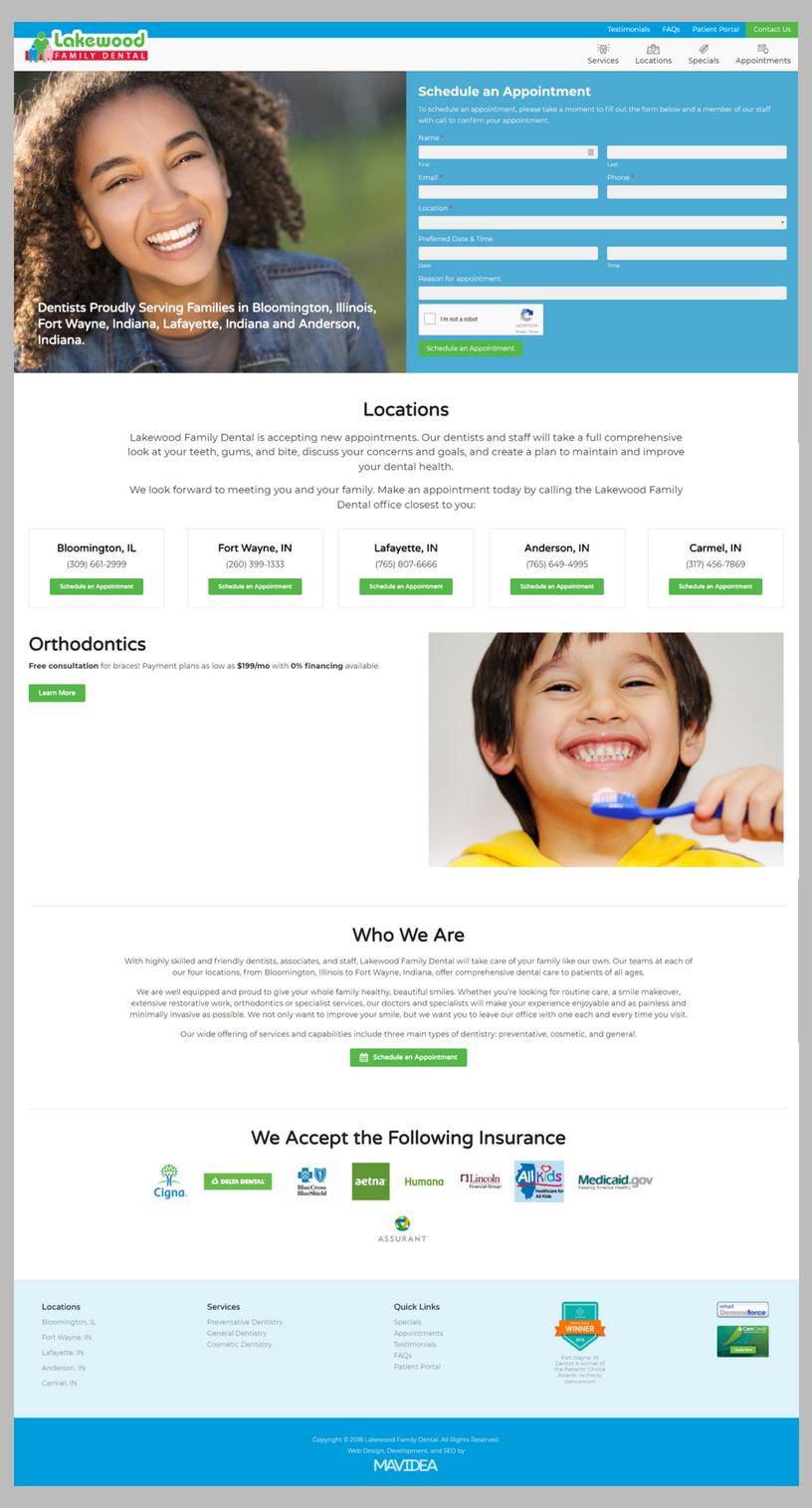 Lakewood Family Dental_ Desktop